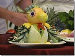 Alaska Cruise Fruit and Vegetable Art