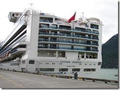 Alaska Cruise Sapphire Princess