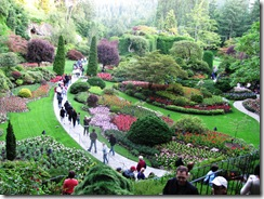 Butchart Gardens Alaska Cruise