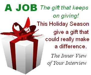 A job is the gift that keeps giving
